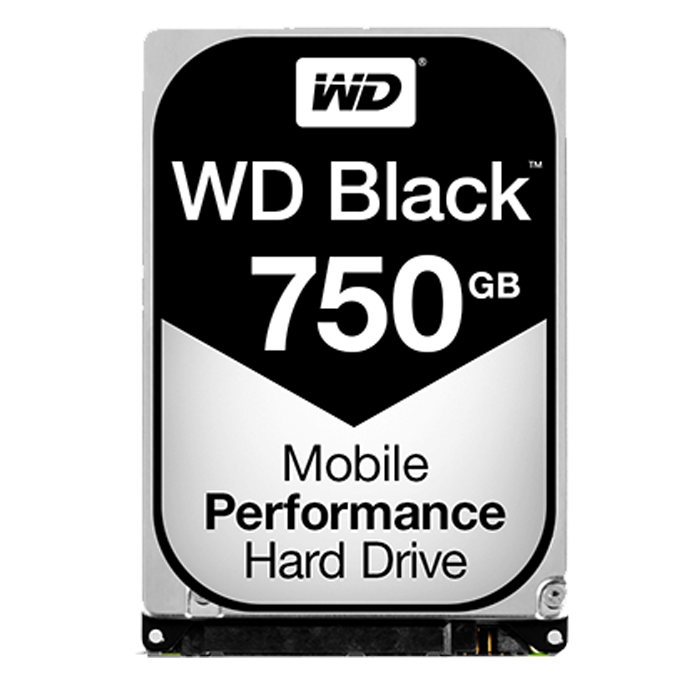 750GB WD Black WD7500BPKX, 7200 RPM, SATA 6Gb/s, 16MB cache, 2.5-Inch OEM HDD
