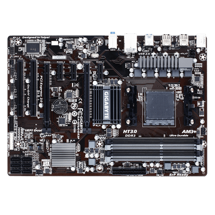 GA-970A-DS3P, AMD 970 Chipset, AM3+, DDR3 32GB, ATX Retail Motherboard