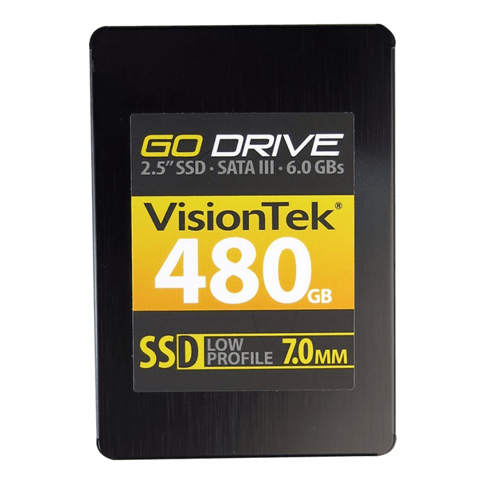 480GB Go Drive 7mm, 550 / 520 MB/s, MLC, SATA 6Gb/s, 2.5-Inch Retail SSD