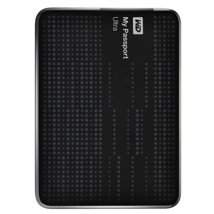 1TB My Passport Ultra Black External Hard Drive, USB 3.0, Retail
