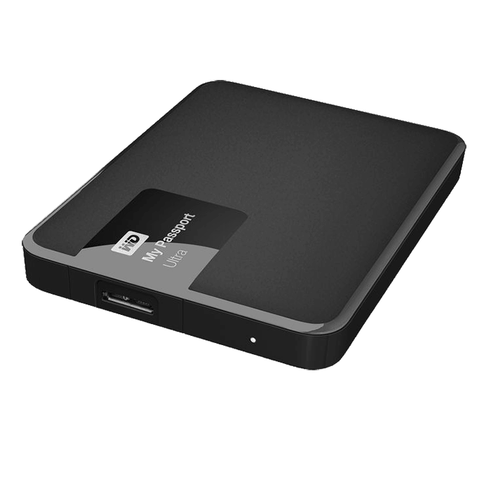 1TB My Passport Ultra, USB 3.0, Black, Retail External Hard Drive