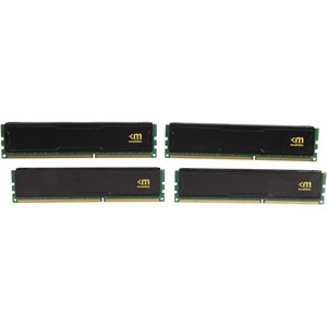 16GB (4 x 4GB) Stealth® Stiletto PC3-12800 DDR3 1600MHz CL9 (9-9-9-24) 1.35V SDRAM DIMM, Non-ECC