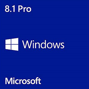 Windows 8.1 Pro 64-bit Edition, OEM w/ Media