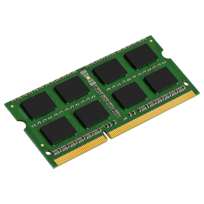 8GB DDR3 1600MHz, PC3-12800, CL11 1.35V, Non-ECC, SO-DIMM Memory