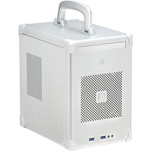 PC-TU100A Silver Mini Tower Case, 2.5