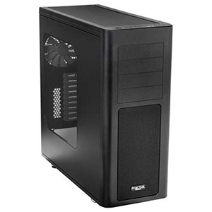 ARC XL Full Tower Case w/ Window, EATX, 9 Slots, No PSU, Plastic/Steel