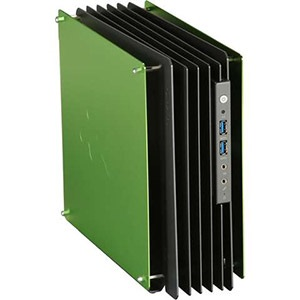 H-Frame Mini Green Open Air Case, 2 x 2.5