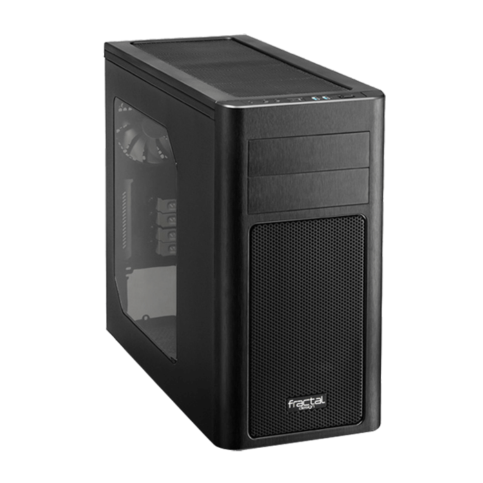 Arc Series Mini R2, w/ Window, No PSU, microATX, Black, Mini Tower Case