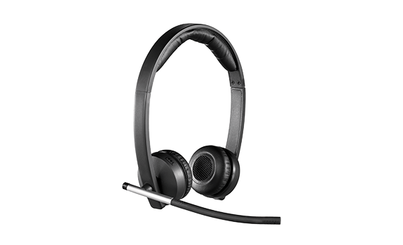 H820e Stereo Wireless Headset w / Microphone Retail