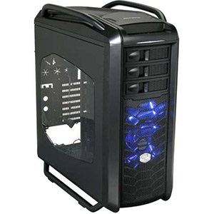 Cosmos SE (COS-5000-KWN1) Black Tower Case w/ Window, ATX, No PSU, Aluminum/Plastic