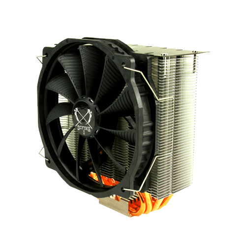 Ashura Series SCASR-1000, Socket 2011-3/1151/AM3+/FM2+, 161mm Height, Nickel/Copper, Retail CPU Cooler