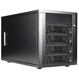 DAGE440T7-ES SAS/SATA 6.0 Gb/s 4x 3.5-in HDD Hot Swap Enclosure