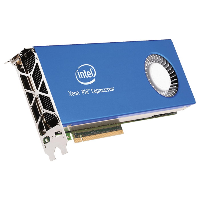 Xeon Phi 3120A, 57-Core 1.1GHz, 28.5 MB Cache, 6GB GDDR5 240 GB/s, PCI Express 3.0 Co-Processor
