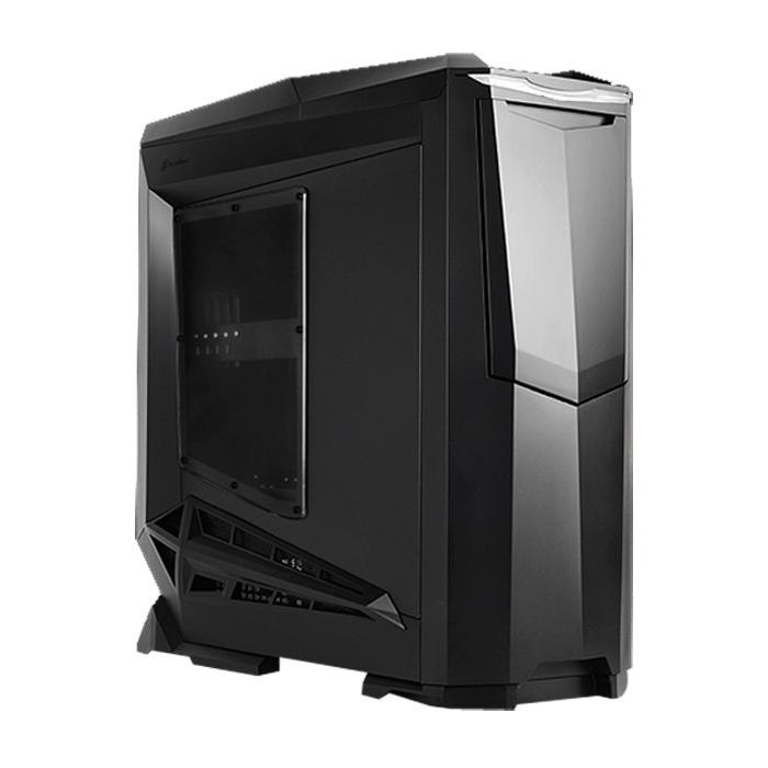Raven Series SST-RV01B-W-USB3.0 w/ Window, No PSU, E-ATX, Black, Full Tower Case