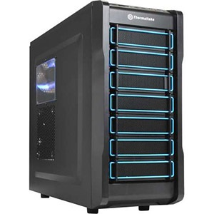 Chaser A21 Black Mid-Tower Case w/ Window, ATX, No PSU, Steel/Plastic