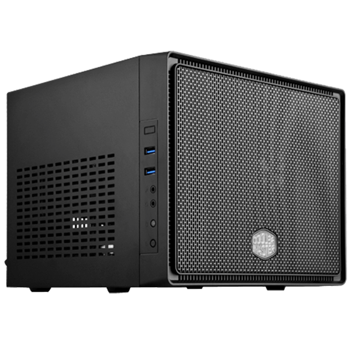 Elite Series 110, No PSU, Mini-ITX, Black, Mini Cube Case
