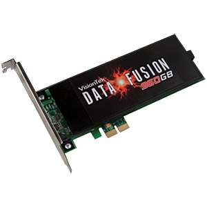 960GB Data Fusion SSD, 810/815 MB/s, PCIe x1, Retail