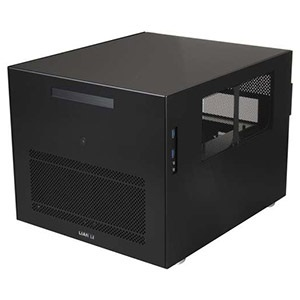 PC-V358B Black Entertainment Cube, 2x USB 3.0, mATX, No PSU