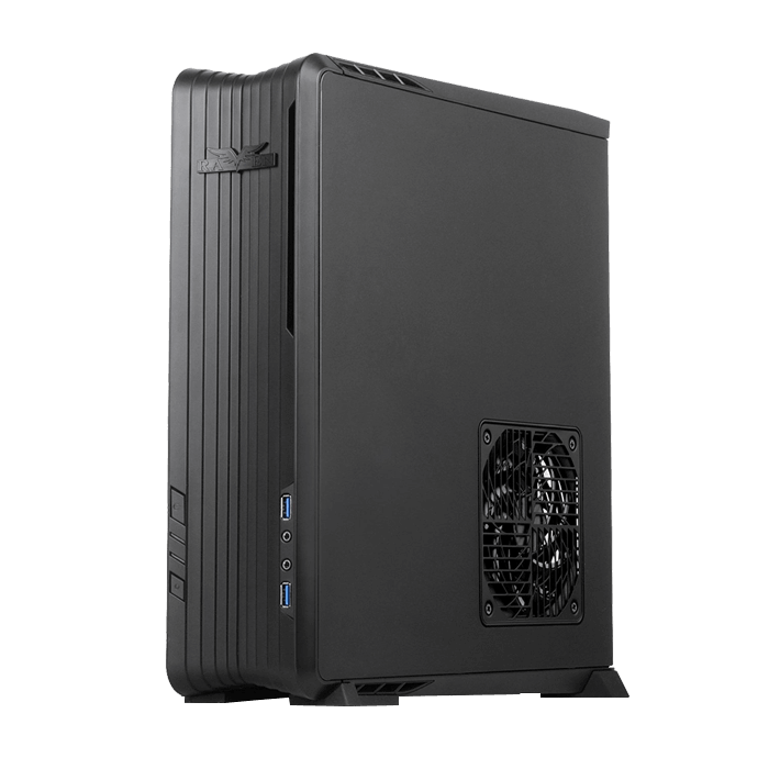 Raven Series SST-RVZ01B, No PSU, Mini-ITX, Black, Slim Case