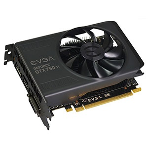 GeForce® GTX 750 Ti 1020-1085MHz, 2GB GDDR5 5400MHz, PCIe x16, DP + HDMI + DVI, Retail