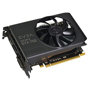 GeForce® GTX 750 1020-1085MHz, 1GB GDDR5 5012MHz, PCIe x16, DP + HDMI + DVI, Retail