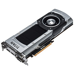 GeForce® GTX TITAN Black SuperClocked 967-1072MHz, 6GB GDDR5 7000MHz, PCIe x16 SLI, DP + HDMI + 2x DVI, Retail