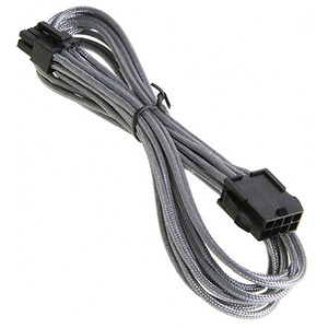 Silver Alchemy Multisleeved 8-Pin EPS Extension Cable, 45cm