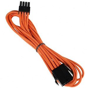 Orange Alchemy Multisleeved 8-Pin EPS Extension Cable, 45cm