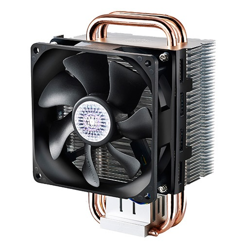 Hyper T2 CPU Cooler, Socket 1150 / 1155 / 1156 / 775 / FM2+ / FM2 / AM3+ / AM3 / AM2, 140mm Height, 130W, Copper/Aluminum