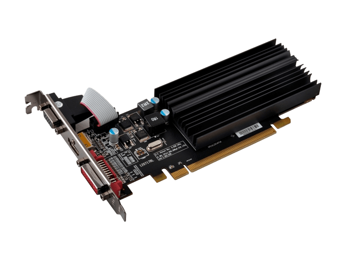 Radeon R5 230 R5-230A-CLH2, 1066MHz, 2GB GDDR3 64-Bit, PCI Express 3.0 Low Profile Graphics Card