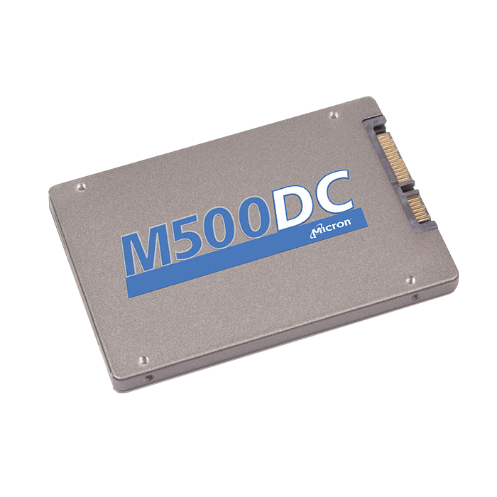 800 GB Micron M500DC SSD, 425 / 375 MB / s, SATA 6 Gb / s, 2.5-Inch, 7mm, Retail