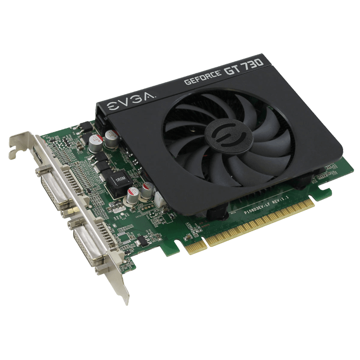 GeForce GT 730 01G-P3-2731-KR, 700MHz, 1GB GDDR3 128-Bit, PCI Express 2.0 Graphics Card