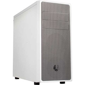 Neos White/Silver Mid-Tower Case, ATX, No PSU, Steel/Plastic
