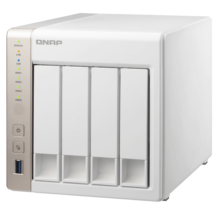 QNAP Turbo NAS TS 451 NAS Server Intel Celeron 2.41 GHz 4 x Total Bays 1 GB RAM Serial ATA/600 RAID Supported HDMI 4 x USB Ports