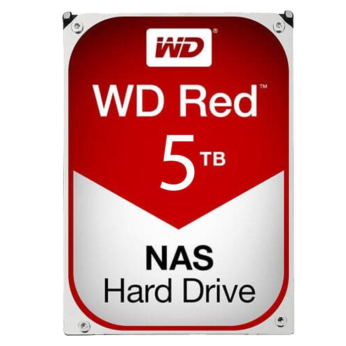 WD RED 5 TB Internal Hard Drive SATA 6Gb/s 3.5 Inch IntelliPower 64 MB Buffer OEM