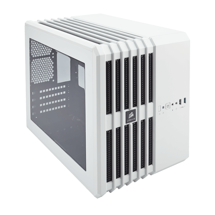 Carbide Series Air 240, w/ Window, No PSU, microATX, Arctic White, Cube Case