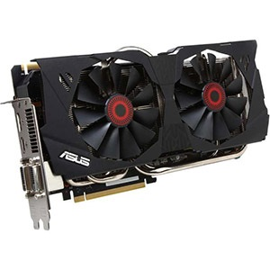 STRIX-GTX780-OC-6GD5, GeForce® GTX 780 889-941MHz, 6GB GDDR5 6008MHz, PCIe x16 SLI, DP + HDMI + 2x DVI, Retail