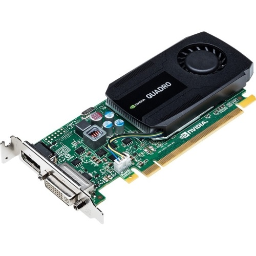 NVIDIA® Quadro® K420, 1GB GDDR3, PCIe x16, DP + DVI, Full-height/Low-profile, Retail