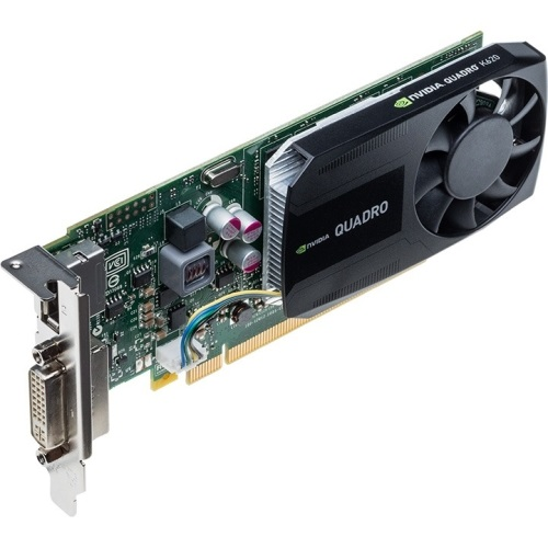 NVIDIA® Quadro® K620, 2GB DDR3, PCIe x16, DP + DVI, Full-height/Low-profile, Retail