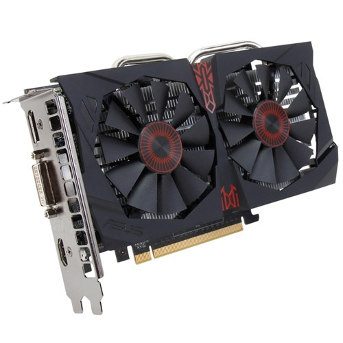 STRIX-GTX750TI-OC-2GD5, GeForce® GTX 750 Ti 1124-1202MHz, 2GB GDDR5 5400MHz, PCIe x16, DP + HDMI + DVI, Retail