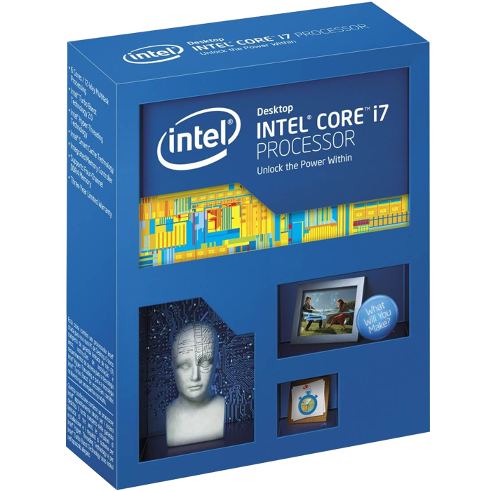 Core i7-5960X Eight-Core 3.0 - 3.5GHz TB, LGA 2011-3, 20MB L3 Cache, DDR4, 22nm, 140W, Retail Processor