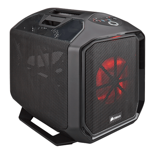 Graphite Series 380T Portable, No PSU, Mini-ITX, Black, Mini Cube Case