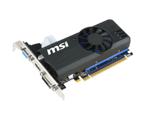 GeForce GT 730 N730K-1GD5LP/OC, 1006MHz, 1GB GDDR5 64-Bit, PCI Express 2.0 Low Profile Graphics Card