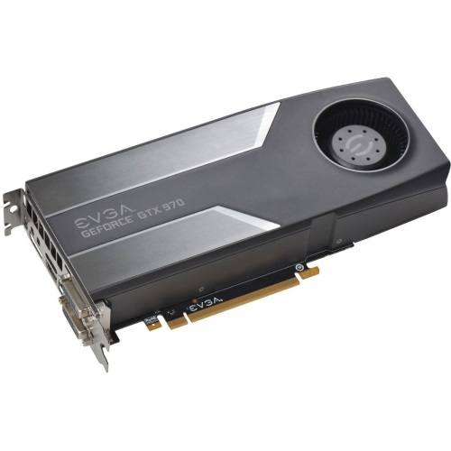 GeForce® GTX 970 SuperClocked 1140-1279MHz, 4GB GDDR5 7010MHz, PCIe x16 SLI, DP + HDMI + 2x DVI, Retail