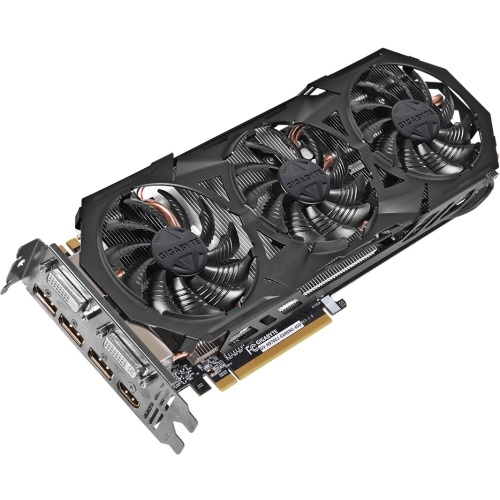 GV-N970G1 GAMING-4GD, GeForce® GTX 970 1178-1329MHz, 4GB GDDR5 7010MHz, PCIe x16 SLI, 3x DP + HDMI + 2x DVI, Retail