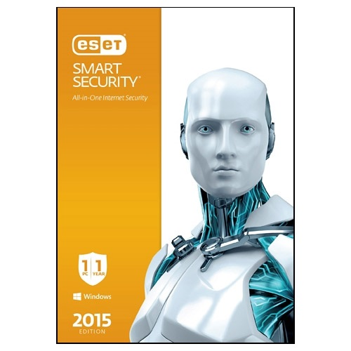 Smart Security® 2015, 3 Users, 1 Year, Retail