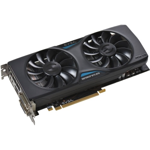 GeForce® GTX 970 SuperClocked ACX 2.0 1165-1317MHz, 4GB GDDR5 7010MHz, PCIe x16 SLI, DP + HDMI + 2x DVI, Retail