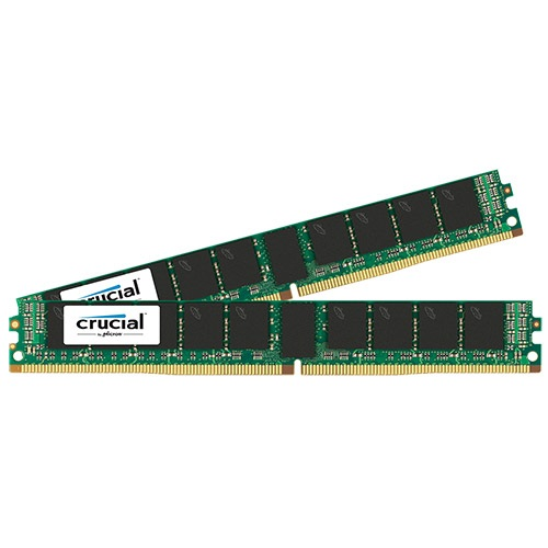 32GB (2 x 16GB) Dual-Rank PC4-17000 DDR4 2133MHz CL15 1.2V SDRAM DIMM, ECC Registered, VLP