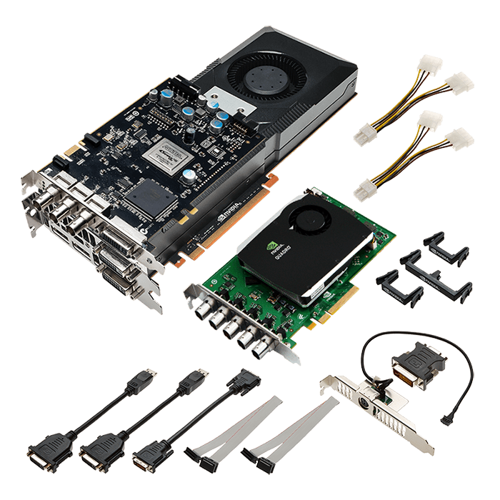Quadro K6000 SDI I/O VCQK6000SDI-IO-PB, 12GB GDDR5 384-Bit, PCI Express 3.0 Graphics Card