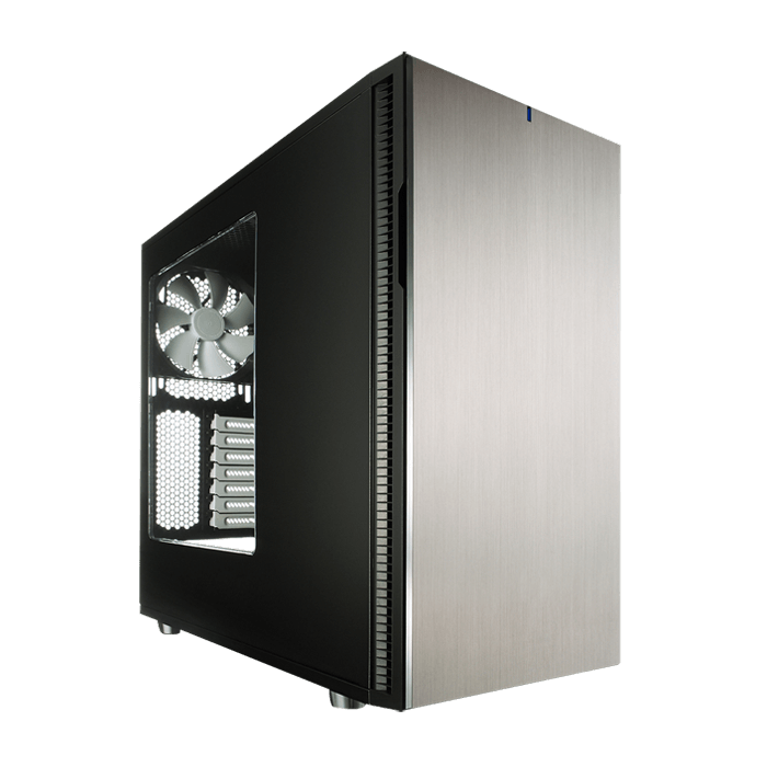 Define Series R5 Titanium w/ Window, No PSU, ATX, Black, Mid Tower Case